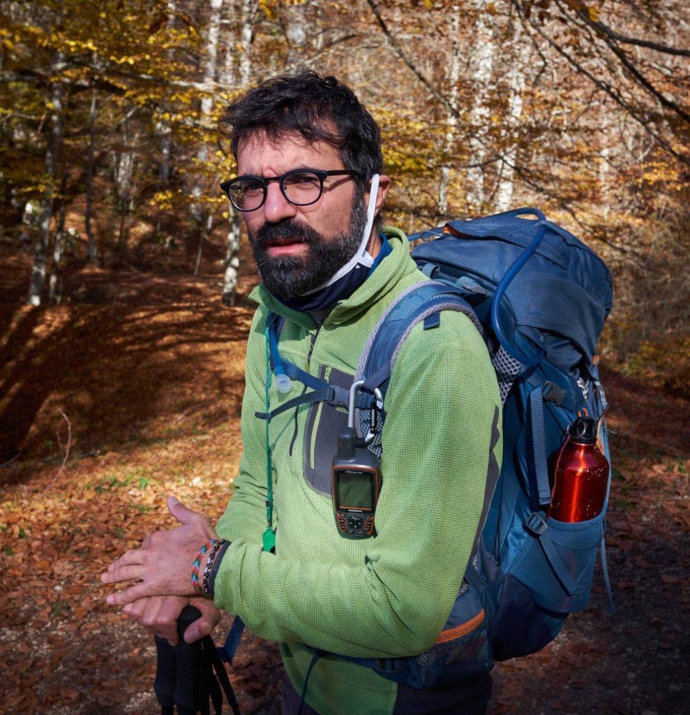Antonio Meccanici Molise Trekking Guida Escursionistica