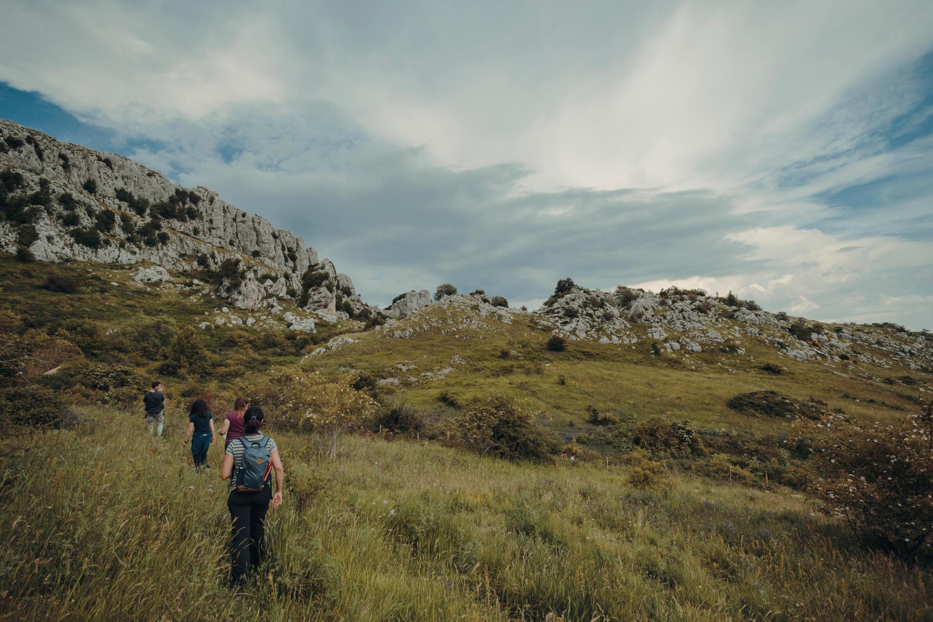 trekking morgia quadra frosolone isernia molise
