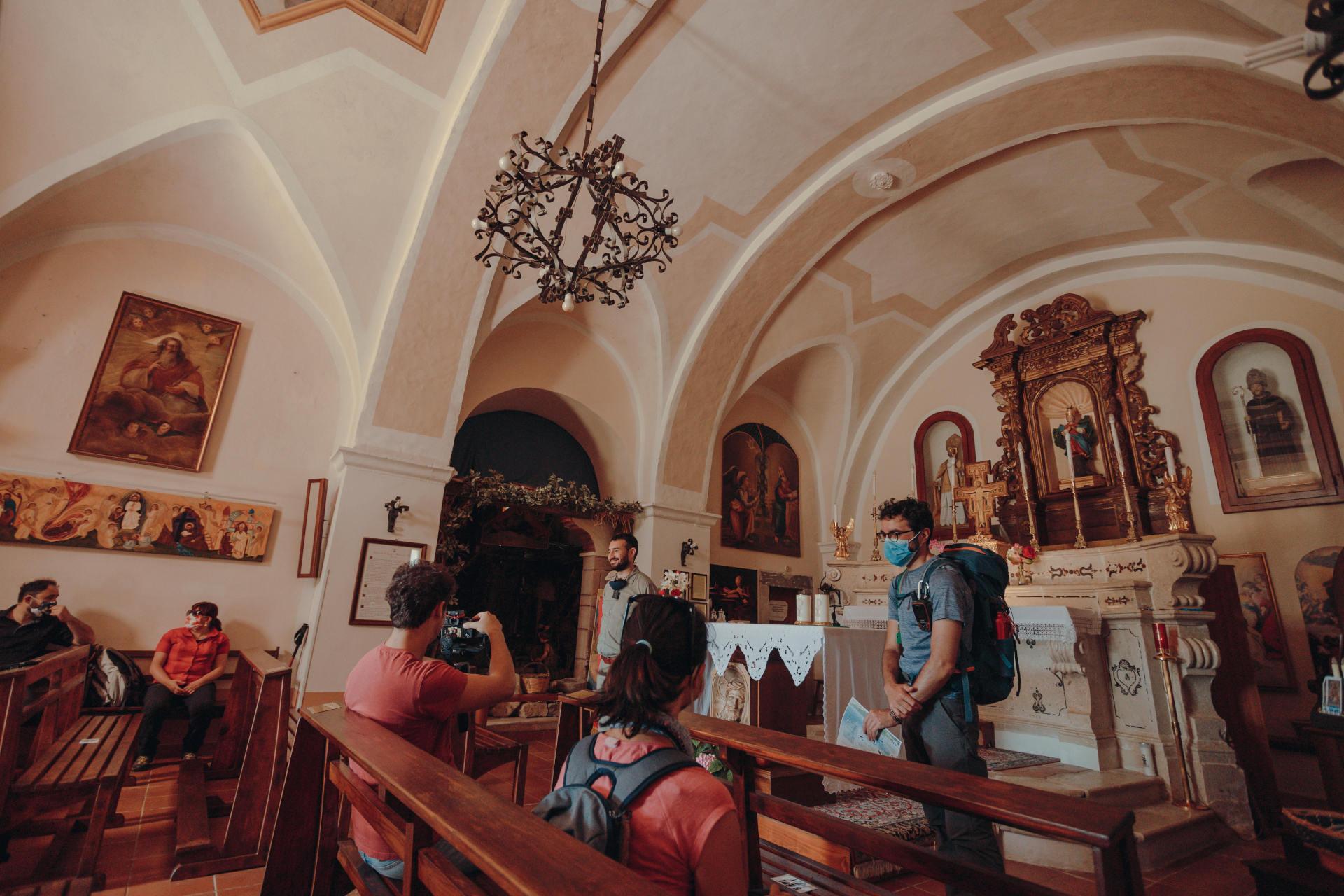 visita eremo di sant'egidio frosolone isernia molise